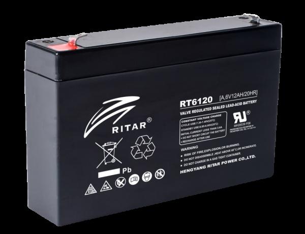 Acumulator stationar plumb acid RITAR 6V 12Ah AGM VRLA [0]