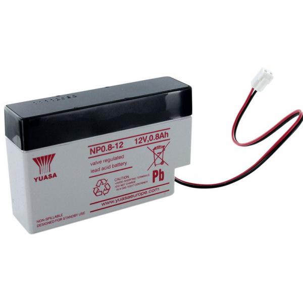 Acumulator stationar plumb acid YUASA 12V 0.8Ah AGM VRLA [0]