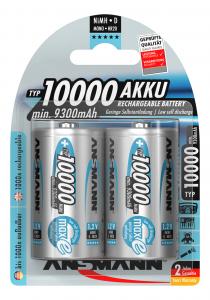 Acumulatori D R20 10000mAh blister 2 bucati ANSMANN [0]