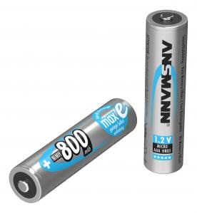 Acumulatori preincarcati AAA R3 800mAh blister 2 bucati ANSMANN [1]