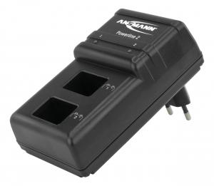 Incarcator Powerline 2 pentru 1-2 acumulatori 9V ANSMANN [2]