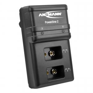 Incarcator Powerline 2 pentru 1-2 acumulatori 9V ANSMANN [0]