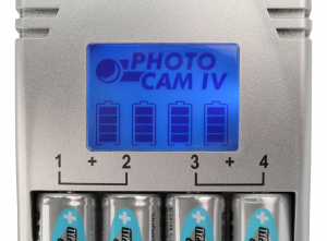 Incarcator Photo Cam IV + 4xAA-2500mAh ANSMANN [2]