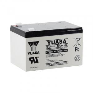 Acumulator stationar plumb acid YUASA 12V 14Ah AGM VRLA Deep Cycle [1]