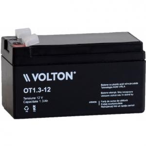 Acumulator stationar plumb acid VOLTON 12V 1.3Ah AGM VRLA [0]