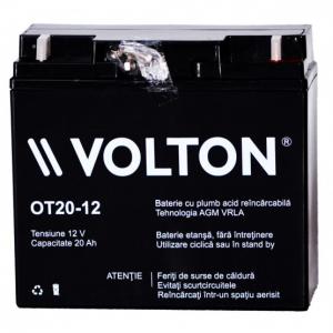Acumulator stationar plumb acid VOLTON 12V 20Ah AGM VRLA [1]
