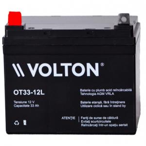 Acumulator stationar plumb acid VOLTON 12V 33Ah AGM VRLA [1]