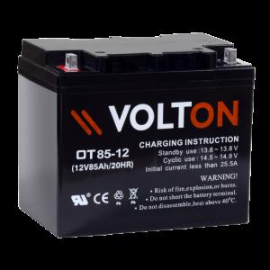 Acumulator stationar plumb acid VOLTON 12V 85Ah AGM VRLA [0]