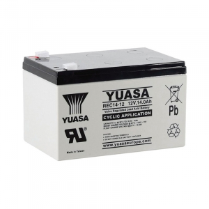 Acumulator stationar plumb acid YUASA 12V 14Ah AGM VRLA Deep Cycle [0]