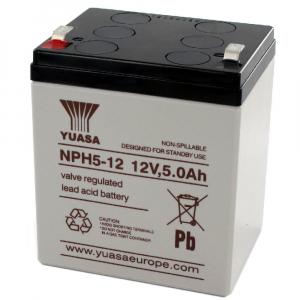 Acumulator stationar plumb acid YUASA 12V 5Ah AGM VRLA [0]