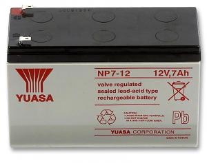 Acumulator stationar plumb acid YUASA 12V 7Ah T1 AGM VRLA [0]