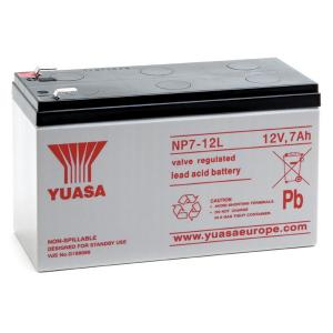 Acumulator stationar plumb acid YUASA 12V 7Ah T2 AGM VRLA [0]