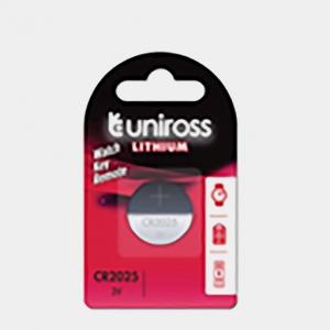 Baterie litiu CR2025 UNIROSS [0]