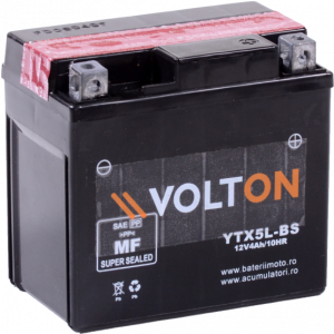 Baterie moto Volton AGM 12V 4Ah [0]