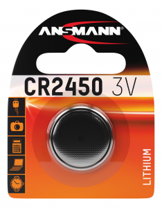 Baterie litiu CR2450 ANSMANN [0]