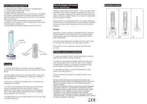 Lampa Germicidala UV 38W Ozon [5]