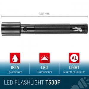 Lanterna profesionala LED 10W Future T500F ANSMANN [5]