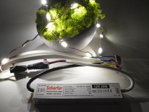Sursa de alimentare LED Profesionala 12V 30W SCHARFER [3]