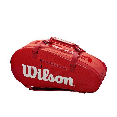 Geanta Wilson Super Tour 2 large, 9 rachete, rosu 0