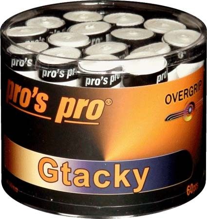 Overgrip-uri Pro'S Pro G-Tacky 60bucati,Albe [0]