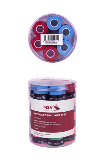 Overgripuri MSV Cyber Wet 24 bucati 8 Culori 0