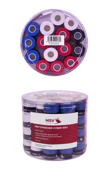 Overgripuri MSV Cyber Wet 60 bucati - 4 Culori 0