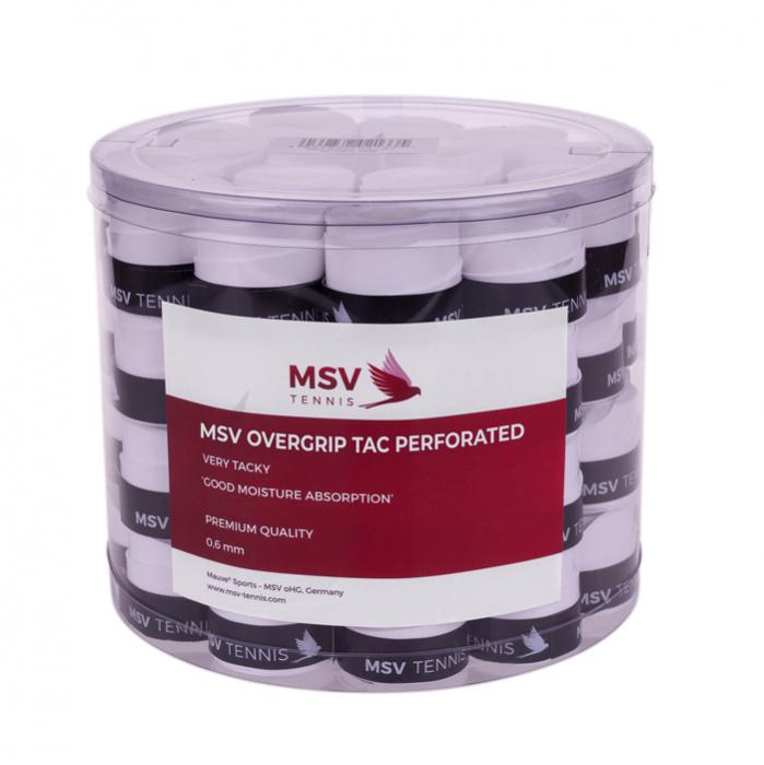 Overgripuri MSV Tac Perforated 60 bucati Alb 0