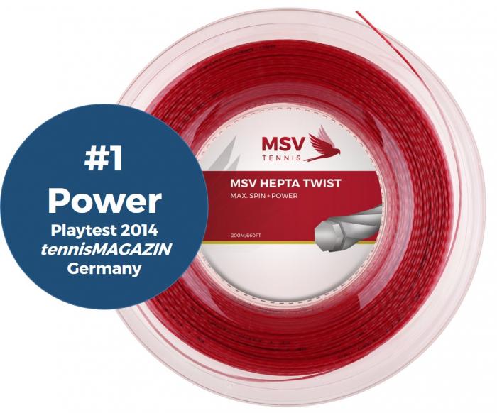 Racordaj MSV Hepta Twist 200m - 1.25mm [0]