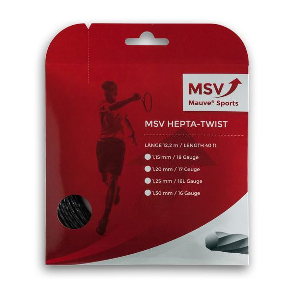 Racordaj MSV Hepta Twist 12m - 1.25mm 0
