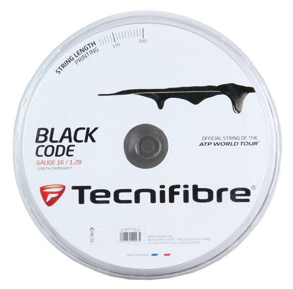Racordaj Tecnifibre Black Code 1.24mm 200m Negru 0