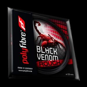 Racordaj Tenis Polyfibre Black Venom 12m 0