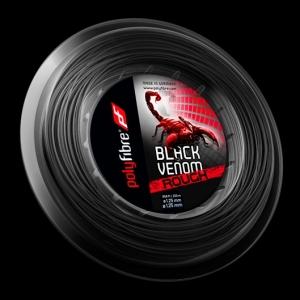 Racordaj Tenis Polyfibre Black Venom 200m [0]