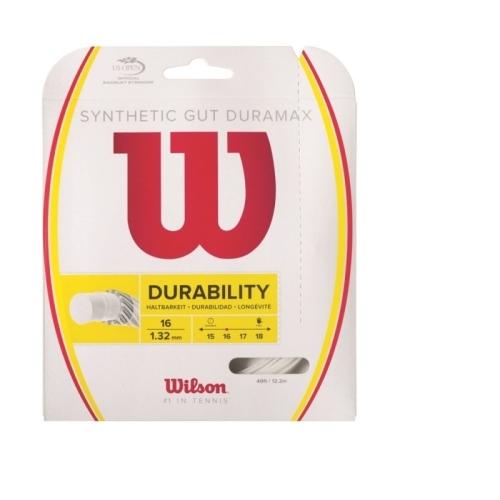Racordaj Wilson Synthetic Gut Duramax 12m 1.30mm Alb [0]