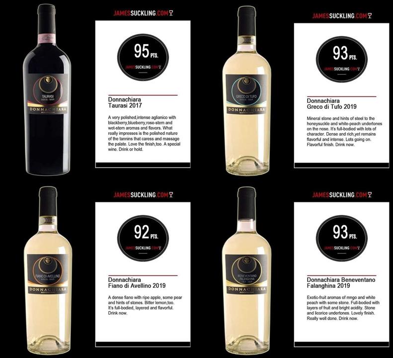 Vinurile din Regiune Campania sunt acum disponibile
