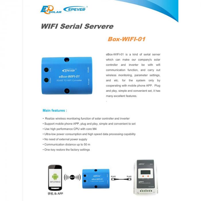 Adaptor eBox-WIFI-01 Wifi  Monitorizare pe telefon-big