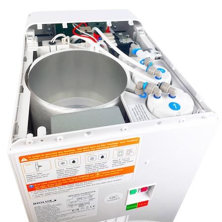 Dozator apa cu sistem de filtrare BIOLUX JL-1746T UF cu  UV Negru-big