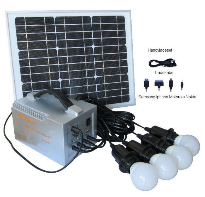 Sistem Fotovoltaic Iluminat cu LED-uri Camping-big