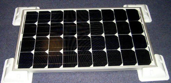 Sistem Fotovoltaic rulota Kit 160 W 12V-big