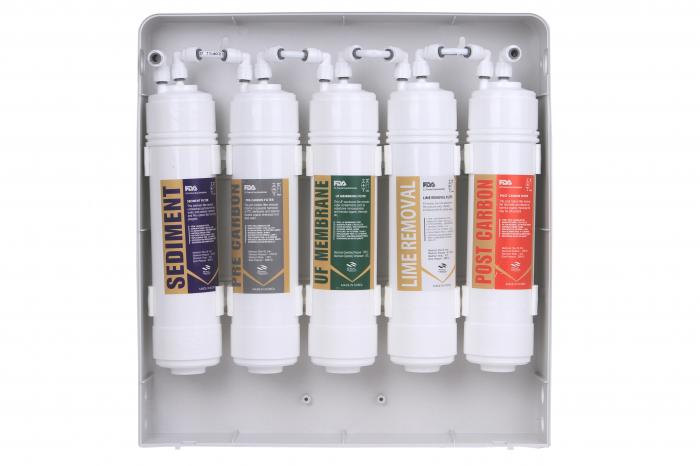 Set de 5 filtre apa cu carcasa-big