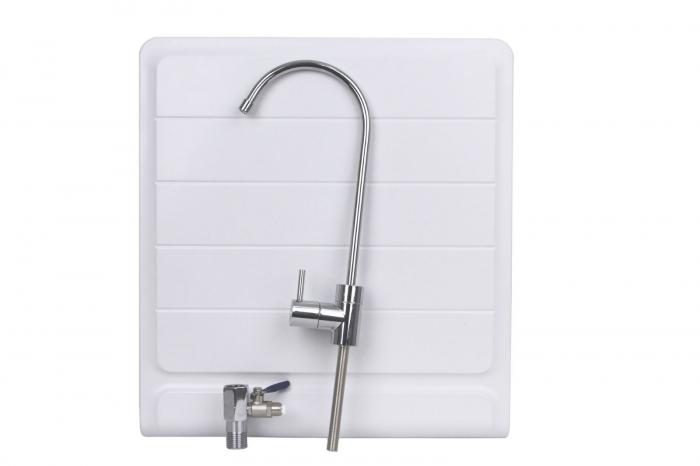 Sistem de filtrare a apei cu robinet, BeWater , 3600-5000 l, Alb-big