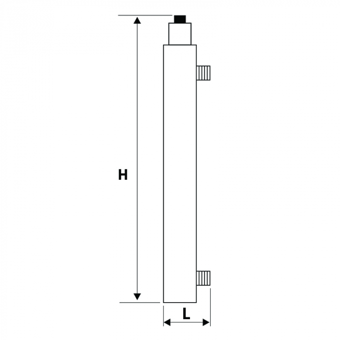STATIE DEZINFECTIE UV 107 AL 1x12W Q=0.3 MC/H-big