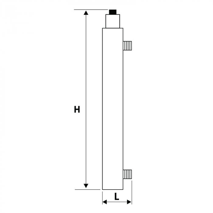 STATIE DEZINFECTIE  UV 405 AL 1x30W Q=1.14 MC/H-big