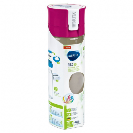 Set 4 sticle filtrante Fill & Go Vital4