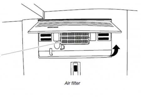 Filtru antibacterian compatibil pentru frigidere Whirlpool (WF009)3