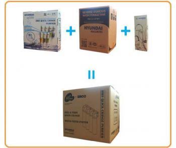 Sistem de filtrare apa cu osmoza inversa Hyundai HQ 7-4F-RO3