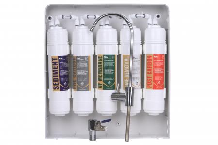 Sistem de filtrare a apei cu robinet, BeWater , 3600-5000 l, Alb2