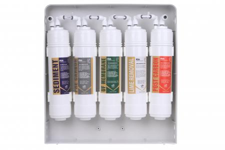 Sistem de filtrare a apei cu robinet, BeWater , 3600-5000 l, Alb5