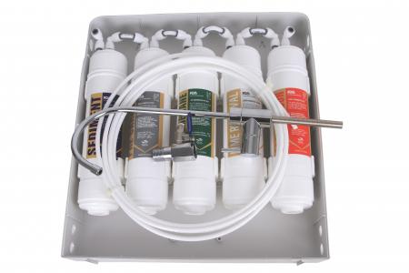 Sistem de filtrare a apei cu robinet, BeWater , 3600-5000 l, Alb1