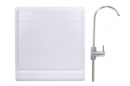 Sistem de filtrare a apei cu robinet, BeWater , 3600-5000 l, Alb0