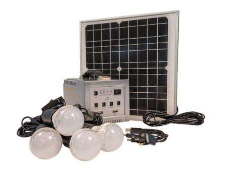 Sistem Fotovoltaic Iluminat cu LED-uri Camping0